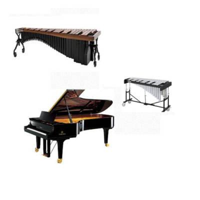 Melodična tolkala s klavirjem